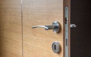 door lock handle-