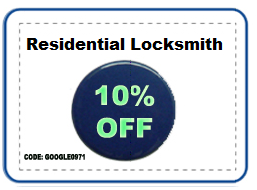 Residential Locksmith Coupon 10% off